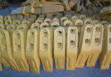 Denti della benna per i pezzi meccanici del telaio del bulldozer dei caricatori di escavatori
