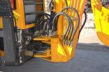 中国低価格の小さい掘る機械Mr22-10小型バックホウのローダー