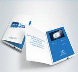 マーケティング広告のための5inchビデオパンフレット