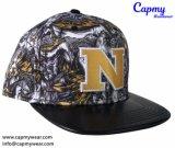 Denim Tapa Snapback sombrero con logotipo bordado metálico