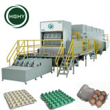 Hghy automática del mejor precio de pasta de papel reciclado de residuos de papel bandeja de huevos de gallina que hace la máquina
