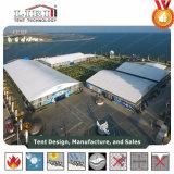 ドームの形アルミニウムおよび屋外展覧会のための8mの側面の高さのPVCフレームのテント