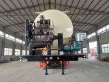 acoplado a granel del carro de petrolero del cemento 60m3 semi del acoplado
