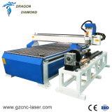 4axis 1300*2500mmの仕事域の自動3D木製の切り分けるCNCのルーター