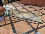USA Carton standard 10mm Effacer la Table ronde couvercles en verre/ Meubles de salle à manger les protecteurs de table à café tempérée/Le verre trempé