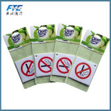 Vario ambientador de aire de papel colgante respetuoso del medio ambiente modificado para requisitos particulares del coche del diseño