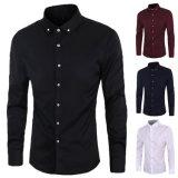 Chemise habillée formelle à manches longues pour homme (A422)