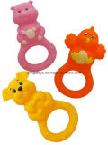 Jouet animal de Teether de bébé de forme