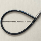 Гибкая оплетка проводов высокого давления и спиральной резиновые втулки