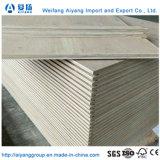 19 de 28 mm de la capa de embalaje de madera pisos de madera contrachapada de