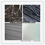 Chinees poetste/Antislip Wit Zwart Beige Houten Marmer voor de Tegel van de Vloer op