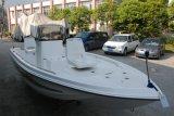 Barco de pesca FRP de consola central de 17 pés