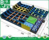 Popular Piscina Super Trampolim Park para uso comercial
