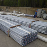6063 T6 tente d'aluminium Pole
