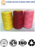 Geverfte Draad 100% van de Kleur de poly-Poly TextielDraad van de Stof van de Naaiende Draad