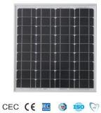 Panneau solaire mono-cristallin 60W avec certificat TUV / Ce / IEC / Mcs