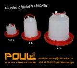 Buveur de plastique automatique de poulet de volaille