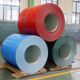 I materiali da costruzione della vernice di colore hanno galvanizzato il piatto d'acciaio ondulato coprendo lo strato