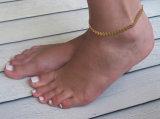 Sommer Boho Fishbone-Ketten-Fußkettchen-Form-Fußkettchen