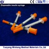 처분할 수 있는 1cc 인슐린 주사통 0.5cc 인슐린 주사통 0.3cc 인슐린 주사통 (ENK-YDS-048)
