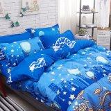 印刷されたMicrofiberポリエステルホーム寝具カバー