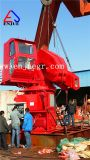 Télescopique hydraulique électrique et les grues de pont maritime pliable