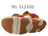 Два цвета PU детей летом обувь