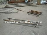 Porta de aço personalizada do ferro da entrada principal da porta da casa