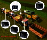 Камера цифров системы Multi-Монитора беспроволочная для жатки, перехода фермы трактора, осматривая силосохранилищ