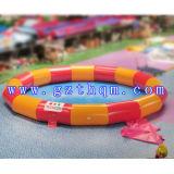 Equipamentos de jogo de água inflável redonda de piscina / piscina quadrada inflável para crianças