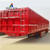 Caixa de transporte de carga a granel caminhão de reboque semi reboque furgão