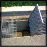 Cubierta galvanizada del foso de las rejas de la calzada del suelo del drenaje de la prolongación del andén