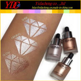 3 teintes illuminateur Mettez en surbrillance liquide pour les produits cosmétiques iconique