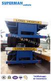 Cimc tri de l'essieu 40FT de lit plat de cargaison remorque semi à vendre
