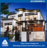 싼 현대 가벼운 강철 구조물 조립식으로 만들어진 집 및 별장