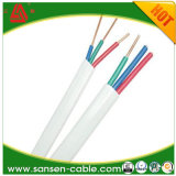 Aislamiento de PVC cable redondo con núcleo de cobre y PVC Luz vaina