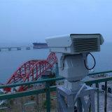 長距離監視の赤外線夜間視界PTZの保安用カメラ