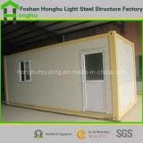 Estructura de acero prefabricados móviles de la construcción de Casa Contenedor para el alojamiento