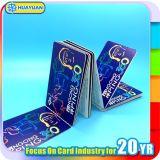 Bilhete de Metro Contactless MIFARE Ultralight C cartão do bilhete de papel