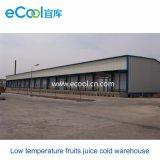 De aangepaste Koude Opslag van het Vruchtesap van de Lage Temperatuur van 3000 Ton