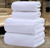 Luxury White Hotel SPA Toalha de banho 100% algodão genuíno, 31,4 x62.9polegada 600g