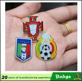 주문을 받아서 만들어진 디자인 월드컵 축구 클럽 Pin 기장