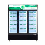 Охладитель для напитков в коммерческих целях безалкогольный напиток холодильник со стеклянной двери
