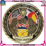 Pièce de monnaie d'enjeu en métal avec le logo 3D pour le cadeau religieux