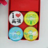 Imán de cristal del refrigerador de las ciudades turísticas directas de los recuerdos de la fábrica de China Foshan