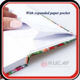 Impresión UV personalizados de papel metálico de tamaño A5 Note Book