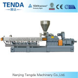 Machine en plastique d'extrudeuse de système de pelletisation de brin de Tsh-65 Tenda