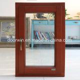 알루미늄 입히는 단단한 소나무 경사 & 회전 Windows 여닫이 창 Windows, 알루미늄 합금 입히는 단단한 오크재