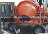 Diesel Béton Portable Mixer 600L standard pour une utilisation pratique