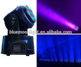 最も新しい3wx18PCS小型LEDの移動ビームライトDJはつく